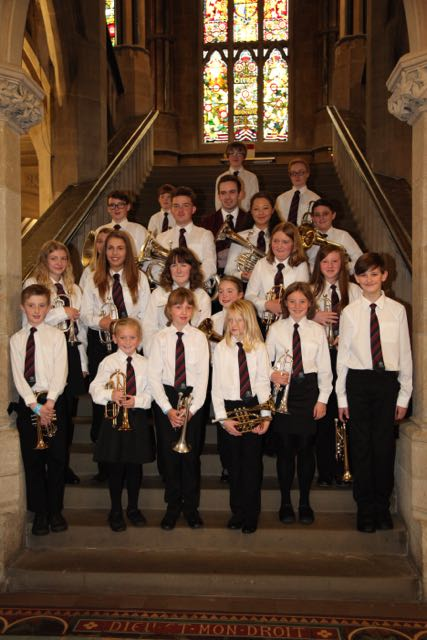 Whitworth Vale and Healey Youth Brass Band